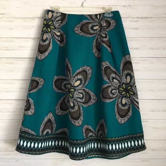 East 5th Dresses & Skirts - EAST 5TH linen blend skirt